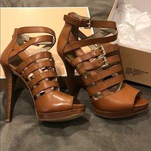8b903927de81 Michael Kors Shoes - Brand New Box Michael Kors-Sandra-platform heel 8